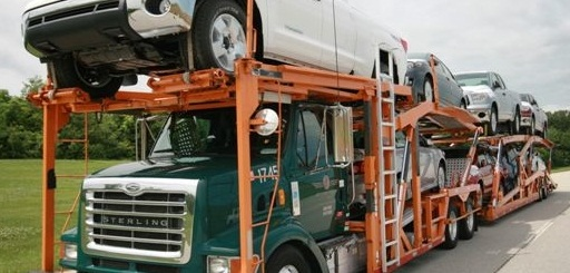 Jack Cooper Transport is the largest union auto hauler. Photo via Jack Cooper Logistics.
