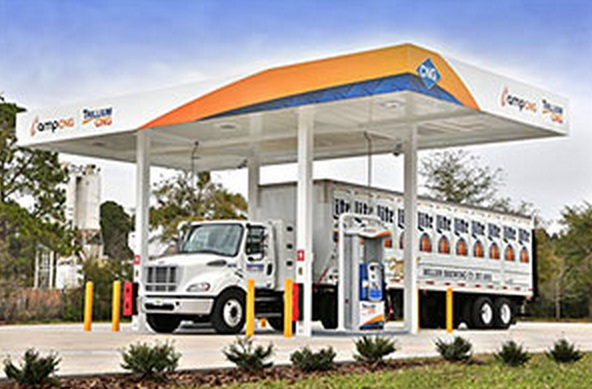 Jacksonville's First Public Access CNG Station Photo: Ken McCray Photography