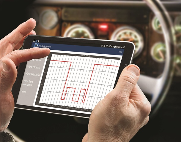 """FMCSA is granting an additional 90-day temporary waiver from the ELD rule for """"agriculture-related transportation."""" Photo: J.J. Keller"""