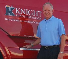 Kevin Knight. Photo: Knight Transportation