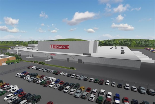 A rendering of the Chillicothe plant expansion. Image: Kenworth