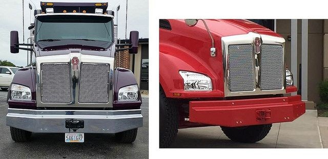 Kenworth T880 with new box bumper option. Photo: Kenworth