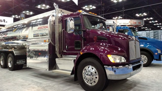The Kenworth T370 with 20K steer axle. Photo: Tom Berg