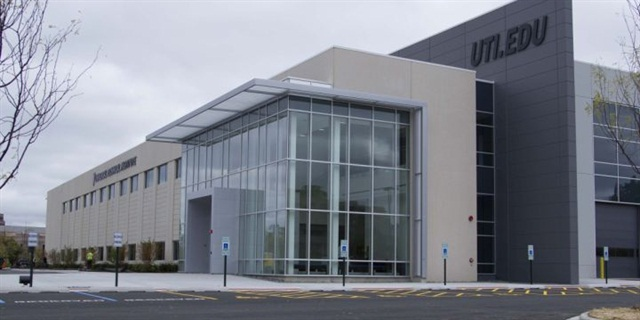 Photo of the UTI campus in Lisle, Ill. Photo courtesy of UTI.