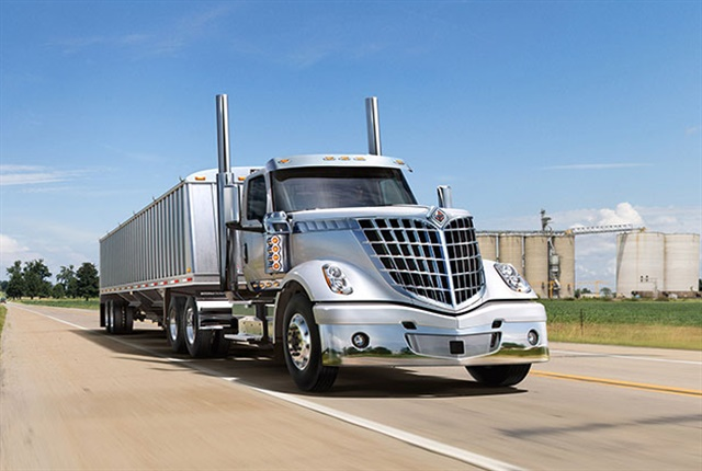 The newly upgraded International LoneStar is now available with the Cummins X15 engine as an option. Photo: International
