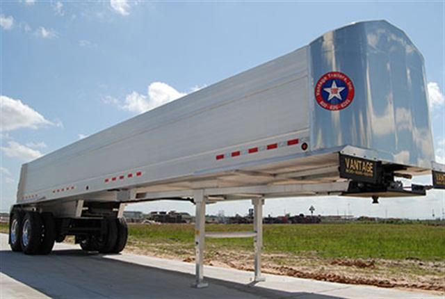 Vantage Lone Star end dump trailer.