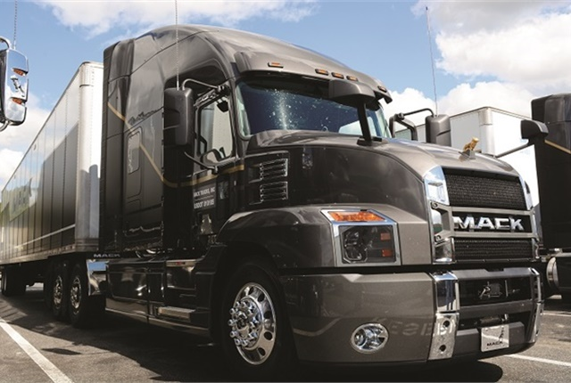 Mack says long-haul spec'd highway tractors have made up 40% of its truck builds so far in 2018. Photo: Jim Park
