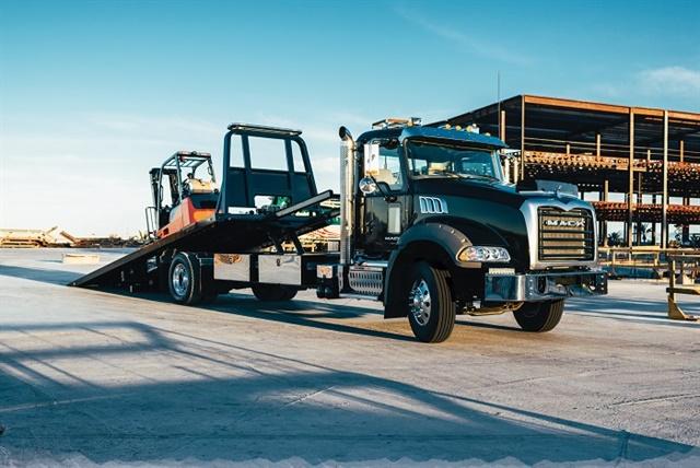 Mack Trucks today announced several new enhancements to its Mack Granite Medium Heavy Duty (MHD) model, increasing its versatility. Photo: Mack Trucks