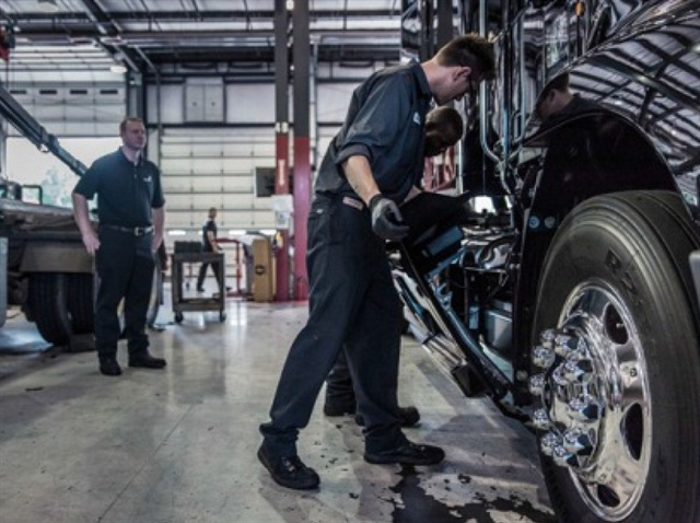 The inaugural Mack Masters Competition will challenge teams of service and parts personnel throughout Mack Trucks' North American dealer network to demonstrate their superior knowledge, skills and teamwork:Photo via Mack Trucks.