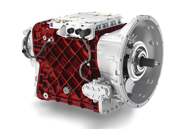 Mack mDrive automated manual transmission.