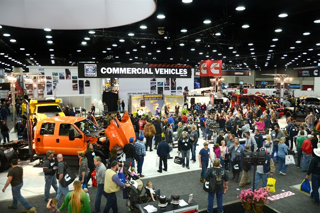 Photo courtesy of Mid-America Trucking Show
