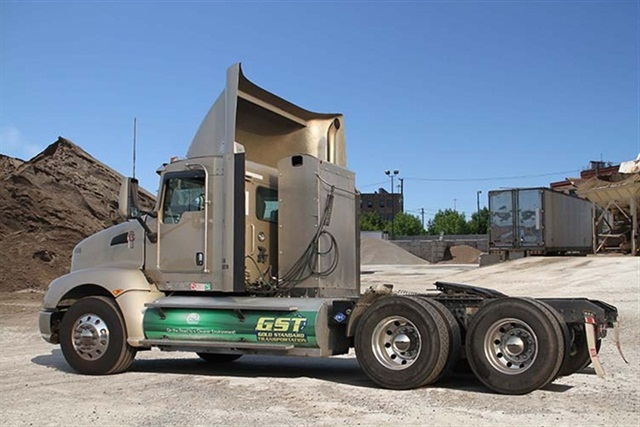 Gold Standard Transportation converted its OTR trucks to CNG. Photo courtesy of McNeilus Truck & Manufacturing.