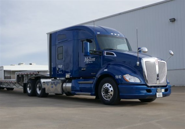 Melton Truck Lines is offering all of its drivers a per mile pay raise as well as a chance to earn a performance bonus. Photo: Melton Truck Lines
