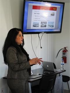 TMS Director of Commercial Operations, Laura Mandujano Valde. Photo: Evan Lockridge
