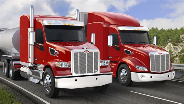 More than 70% of Peterbilt's production in 2016 were Models 579 and 567.