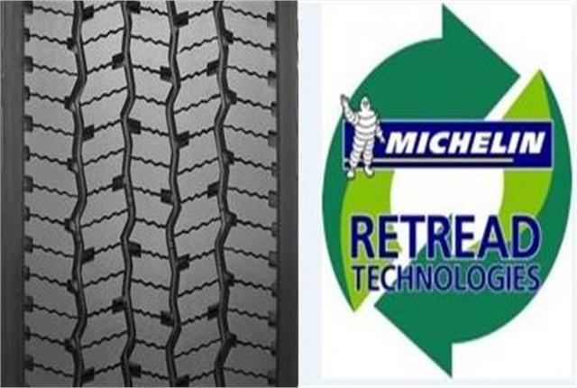 Michelin X Multi Energy D Pre-Mold retread Image: Michelin