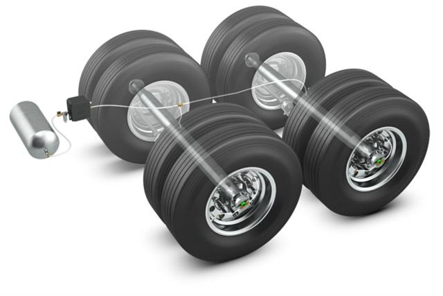 The Meritor Tire Inflation System by P.S.I. Imagecourtesy of Meritor