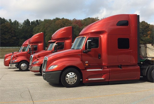 "International ProStar tractors are ""edging"" closer to average used truck prices, a report by J.D. Power & Associates has found. Photo: Jack Roberts"