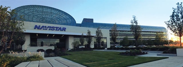 Navistar's Lisle, Ill., headquarters. File photo.