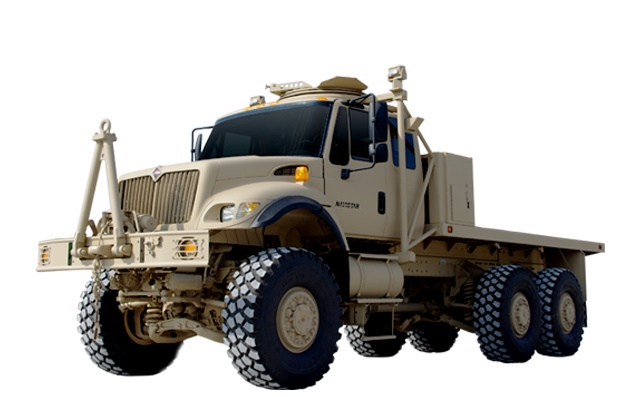 The $18.8 million contract will go toward 115 International 7000-MV Medium Tactical Vehicles for Iraq. Photo: Navistar Defense