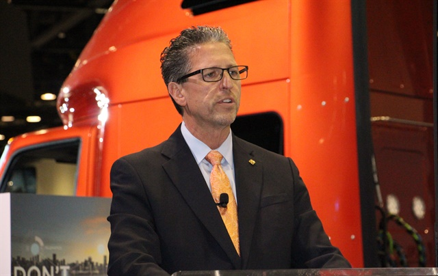 Navistar's Michael Cancelliere. Photo: Evan Lockridge