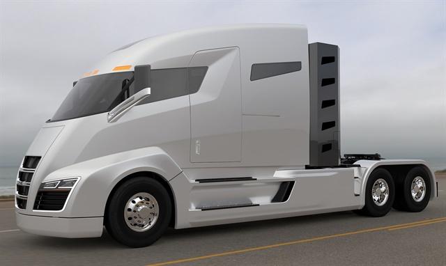 The Nikola One concept truckImage: Nikola Motors