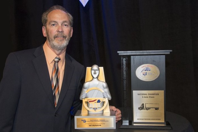The 2016 National Truck Driving Championships winner, Charles WhitePhoto: ATA