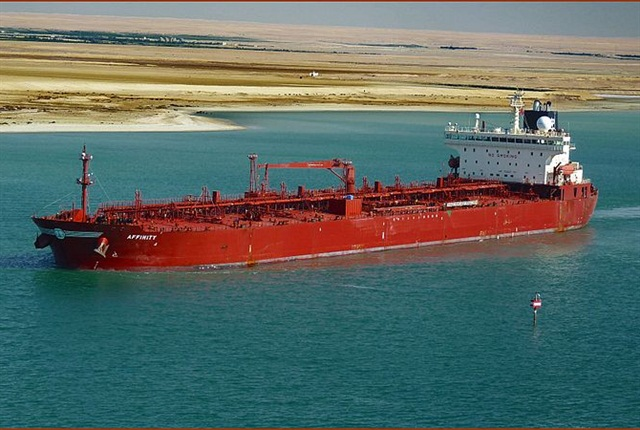 Worries about tensions in Egypt helped drive oil prices higher amid concerns there could be disruptions in oil transported via the Suez Canal. (Photo by Panoramio via Wikimedia Commons)