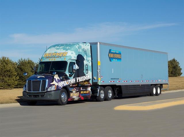 Operation Freedom Fleet Truck. Photo: Werner.
