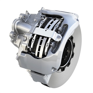 Meritor's optimized EX+ air disc brake