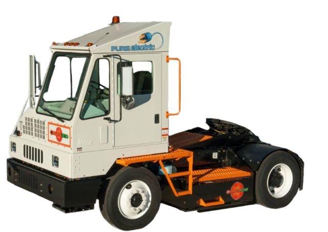 Orange EV's all-new Class 8 pure-electric terminal truck. (Photo courtesy of Orange EV.)