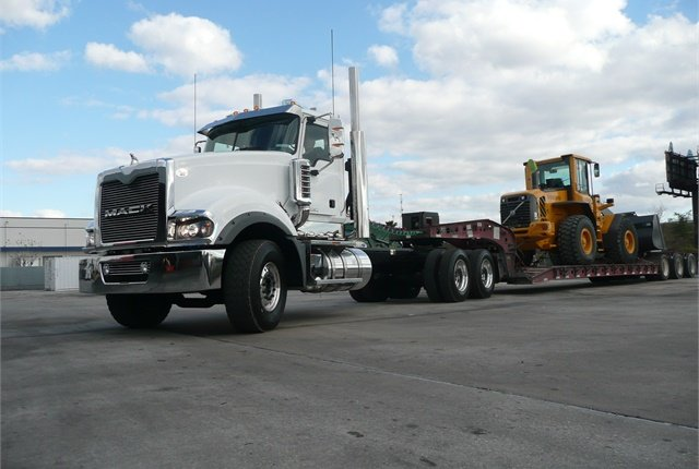 <p><strong>Mack says it will discontinue both the MP10 and its Titan heavy-haul tractor. Taking its place will be versions of the Pinnacle and Granite models. <em>Photo: Tom Berg&nbsp;</em></strong></p>