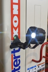 The Stertil-Koni Palm Light provides up to 800 lumens of directed light. Photo: Stertil-Koni