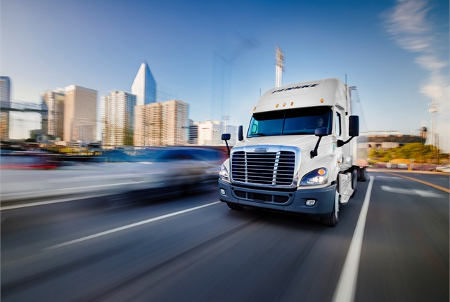 """SOL report sees truck drivers as """"the limiting factor for the growth in trucking capacity.""""Image: Penske Logistics"""