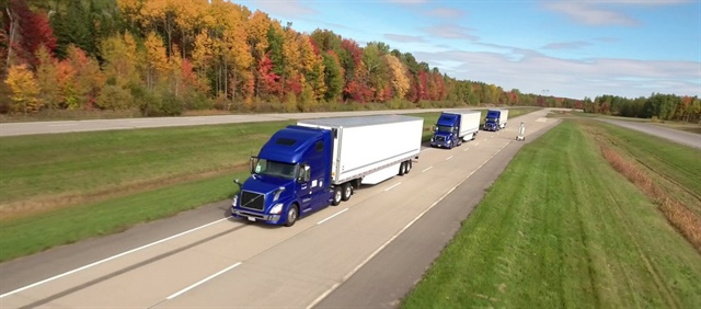 The PIT Group is working with Volvo and other interested parties to evaluate potential platooning operations in North America. Photo: PIT Group