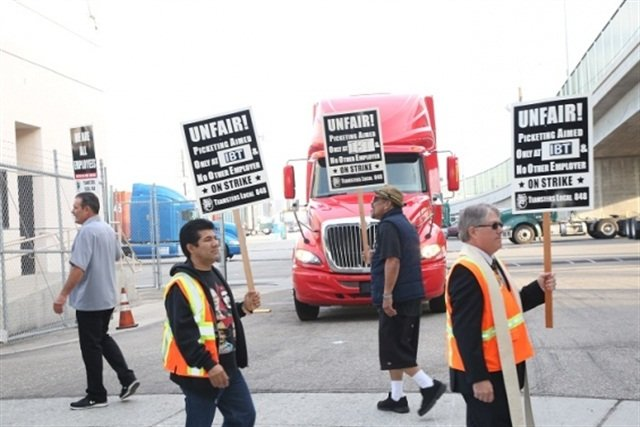 Photo: Teamsters Union