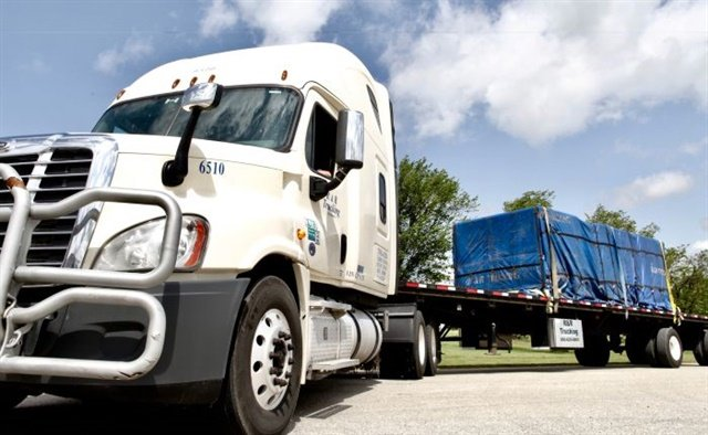 R&R Trucking transports specialty cargo requiring unique training and security clearances and is a leading specialized transporter of defense and commercial AA&E (arms, ammunitions and explosives) cargo. Photo: R&R Trucking