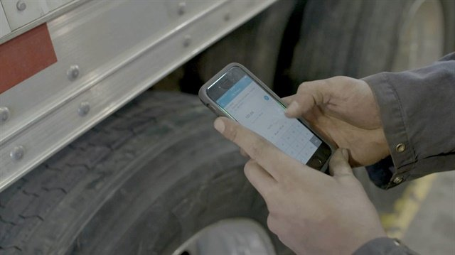 Rhombus TireAnalytics 2.0 is a cloud-based platform that identifies and analyzes tire wear trends to predict maintenance issues that can be pre-emptively addressed to minimize downtime and establish optimal timeframes for scheduled replacement. Photo: Dana Incorporated