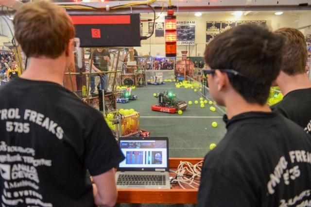 Photo: FIRST Robotics Competition