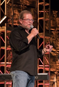 Rusty Rush talks about the importance of service during the Rush Tech Rodeo. Photo courtesy Rush.