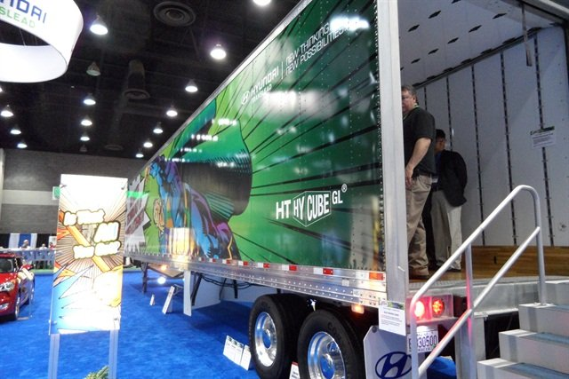Trailer makers rented large booths at the Louisville show and most are likely to continue.