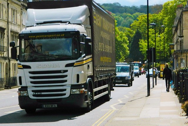 Scania trucks from Sweden are among the commercial vehicles imported to Britain from EU member states. Photo: Lee Bristol via Flickr under Creative Commons license.