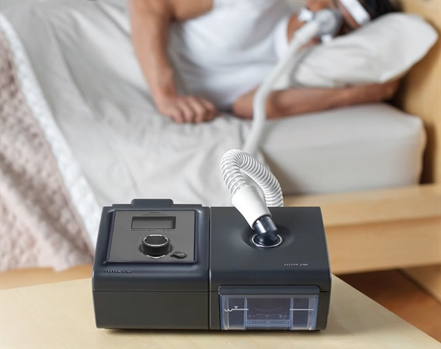 CPAP machine for treating sleep apnea Image:Safety First Sleep Solutions