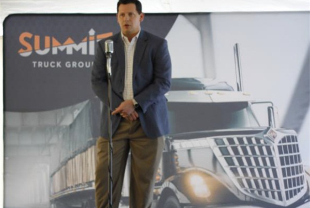 Justin Fink, president of Summit Truck Group Photo: Summit