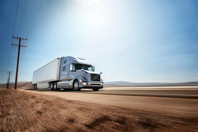 XE super direct drive improves fuel efficiency by lowering engine rpms at a given vehicle speed. Photo courtesy of Volvo Trucks