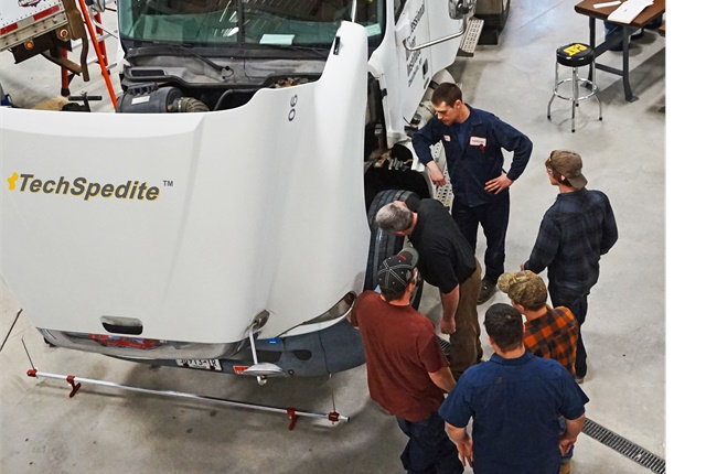 New technicians progress based on what they've learned. Photo: Pro-Mech Learning Systems.