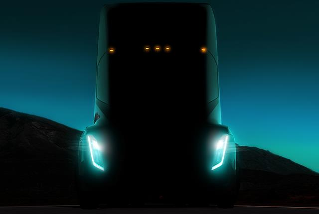 The Reuters News Agency is reporting that Tesla's electric truck will be a day cab model without a sleeper. Photo: Tesla