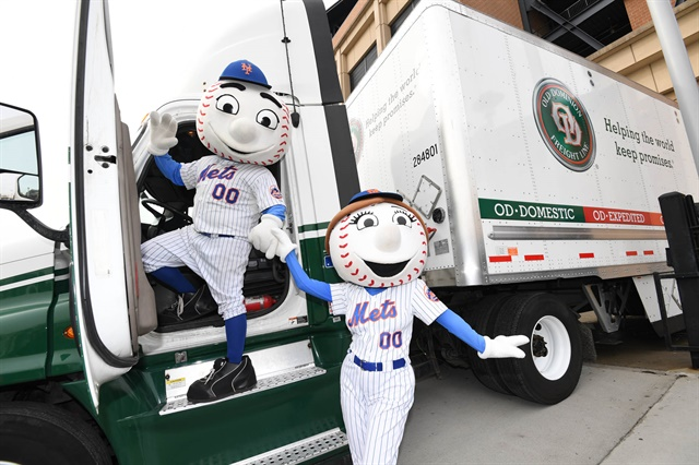 Old Dominion is partnering with three MLB teams for annual Moving Day events celebrating the beginning of baseball season. Photo: Old Dominion Freight Line