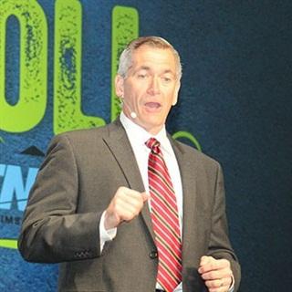TMW Systems president David Wangler speaking at last year's TransForum. Photo: Jim Beach