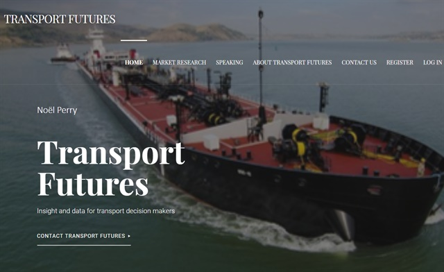 Veteran transportaiton industry analyst Noël Perry has launched his own website, Transport Futures, where he will provide his own personal insights on a variety of industry topics. Screenshot via transportfutures.net